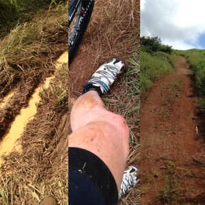 Muddy course!