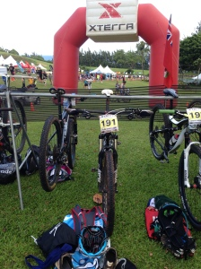 Xterra Maui transition area