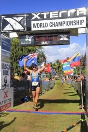 Maui finish line
